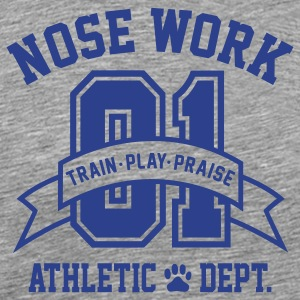 Nose Work T-Shirts - Men's Premium T-Shirt