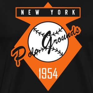 Polo Grounds 1954 Alt (Heavy Weight) - Men's Premium T-Shirt