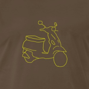 Vespa Yellow  - Men's Premium T-Shirt