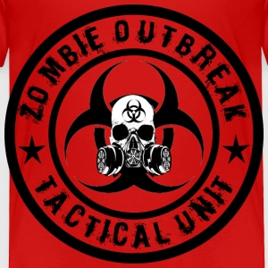 zombie outbreak tactical unit Toddler Shirts - Toddler Premium T-Shirt