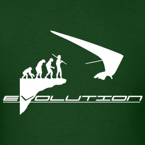 hanggliding evolution - Men's T-Shirt
