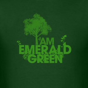 I am Emerald Green - Men's T-Shirt