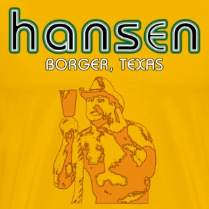 Parody T-Shirt inspired by Hanson and Stan Hansen - Men's Premium T-Shirt
