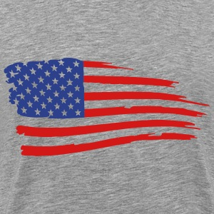 the flag - Men's Premium T-Shirt