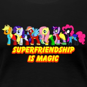 Superfriendship Is Magic - Women's Premium T-Shirt