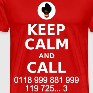 Keep Calm and Call - Men's Premium T-Shirt