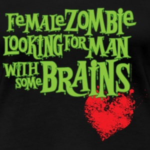Zombie Woman's Personal Ad - Women's Premium T-Shirt