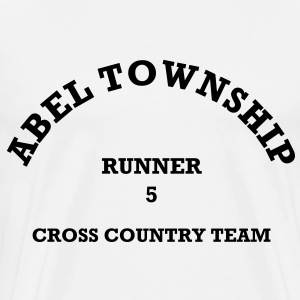 Abel Township Cross Country Team (dark) - Men's Premium T-Shirt