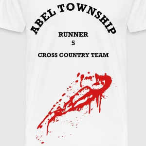 Abel Township Cross Country Team (dark & bloody) - Men's Premium T-Shirt