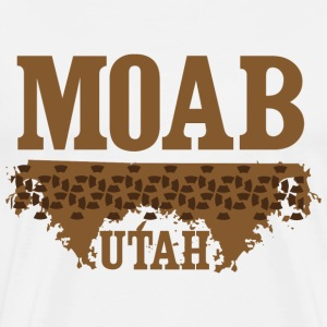 Moab Utah Mountain Biking T-Shirts - Men's Premium T-Shirt