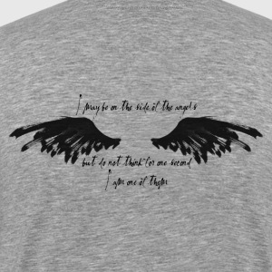 On the side of the angels - B&T - Men's Premium T-Shirt