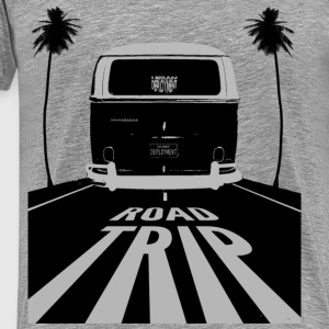 Retro Road Trip Men's Heavyweight T-Shirt - Men's Premium T-Shirt