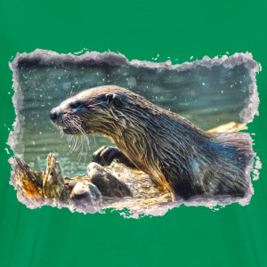 River Otter I - Men's Premium T-Shirt