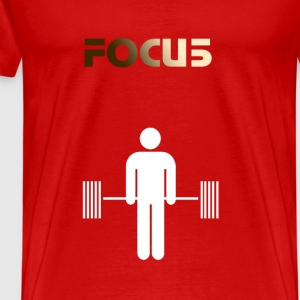 Deadlift focus - Men's Premium T-Shirt