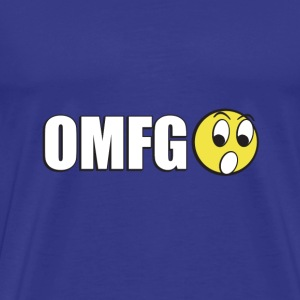 SplitReason - OMFG! T-Shirt - Men's Premium T-Shirt