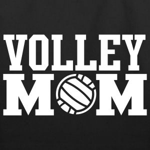 Volley Mom Tote Bag - Eco-Friendly Cotton Tote