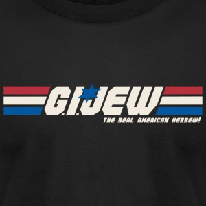 G.I. Jew - Men's T-Shirt by American Apparel