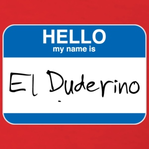 Red El Duderino T-Shirts - Men's T-Shirt