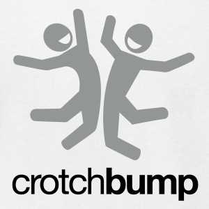 crotch bump tee - Men's T-Shirt by American Apparel