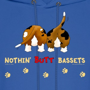 Nothin' Butt Bassets Sweatshirt - Men's Hoodie