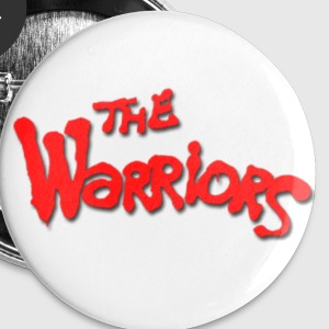 The Warriors Button (5 Pack, Small) - Small Buttons