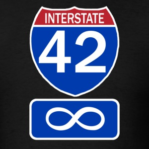 Interstate 42 - Men's T-Shirt