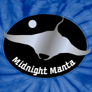 Midnight Manta - Unisex Tie Dye T-Shirt