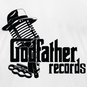 Godfather Records T-Shirt (Black Logo) - Men's T-Shirt by American Apparel