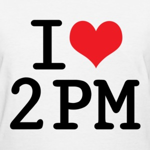 I LOVE 2PM (WHITE) - Women's T-Shirt