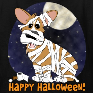 Halloween Corgi Mummy Child's TShirt - Kids' T-Shirt