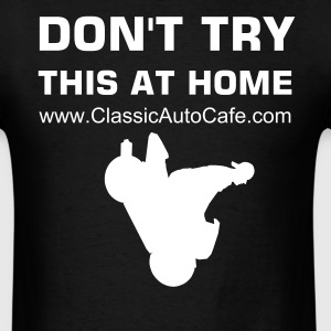 Motorcycle Stoppie - Men's T-Shirt