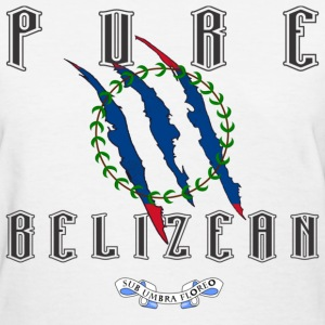 Pure Belizean - Women  - Women's T-Shirt