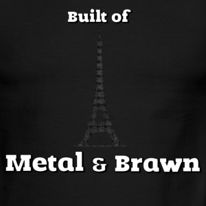 Anchorman - Eiffel Tower - Metal & Brawn - Men's Ringer T-Shirt