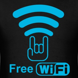 Free WIFI - Men's T-Shirt