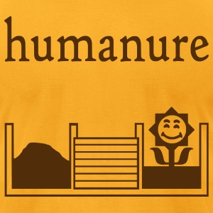 humanure - Men's T-Shirt by American Apparel