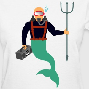 Scuba Merman - Women's T-Shirt