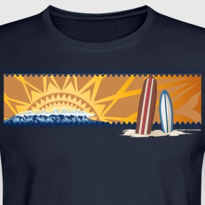 Sunset surfboards - Men's Long Sleeve T-Shirt