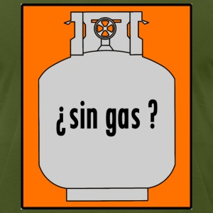 Sin Gas? - Poloche - Men's T-Shirt by American Apparel