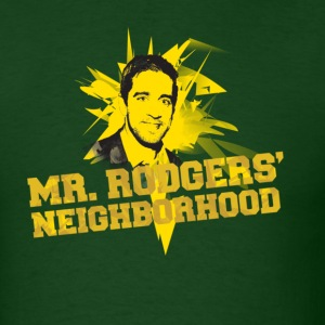Mr. Rodgers' Neighborhood Aaron Rodgers - Men's T-Shirt