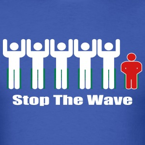 Men's Stop The Wave Logo T-Shirt - Men's T-Shirt