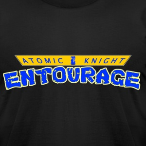 Turtle's Entourage (V2) - Men's T-Shirt by American Apparel