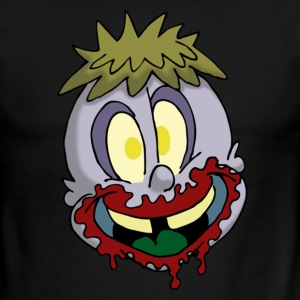 Lil Zomby Head - Men's Ringer T-Shirt