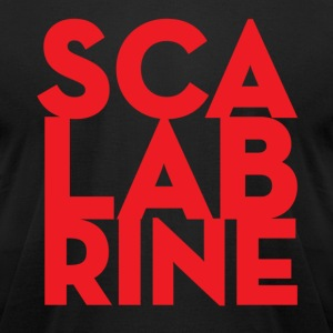 sca lab rine - Men's T-Shirt by American Apparel