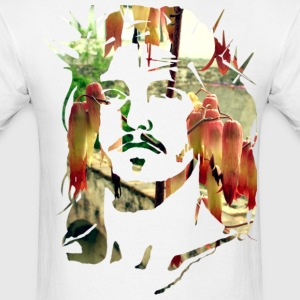 Flower Jesus - Men's T-Shirt