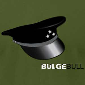 BULGEBULL LEATHER CAP - Men's T-Shirt by American Apparel