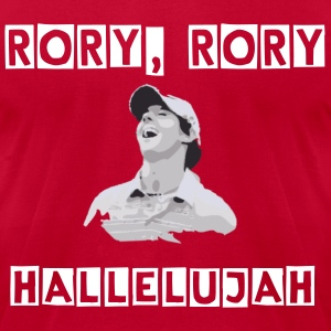 Rory, Rory, Hallelujah - Men's T-Shirt by American Apparel