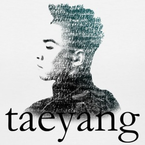 Big Bang - Taeyang Typography - Women's V-Neck T-Shirt