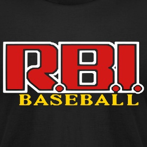 RBI Baseball (American Apperal) - Men's T-Shirt by American Apparel