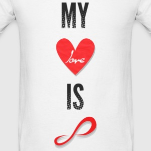 Infinite - My Love is Infinite - Men's T-Shirt
