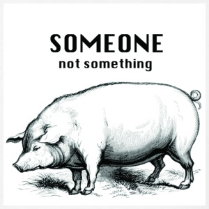 someone not something pig men's - Men's T-Shirt